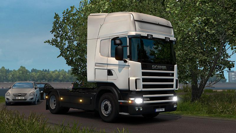 ETS2 - Scania T4 Series Addon for RJL Scania V2.3 (1.39.x)