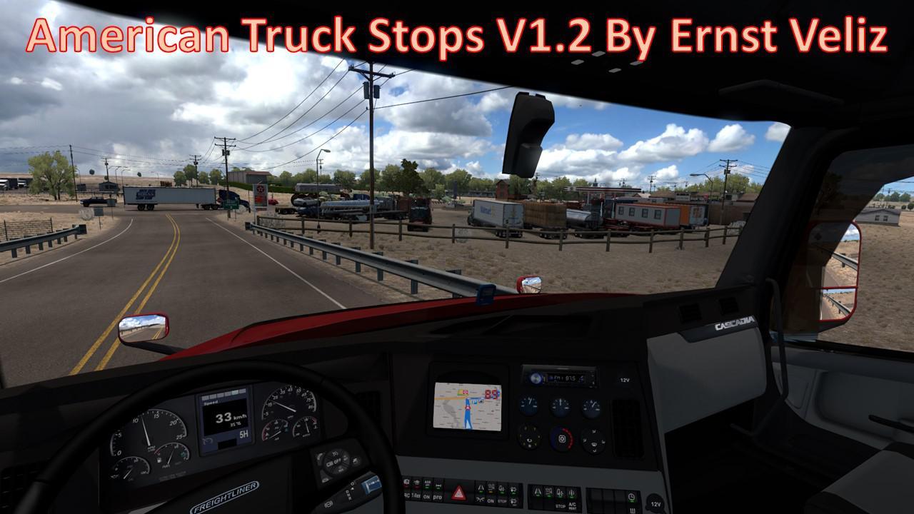 ATS - American Truck Stops V1.2 (1.36.x)