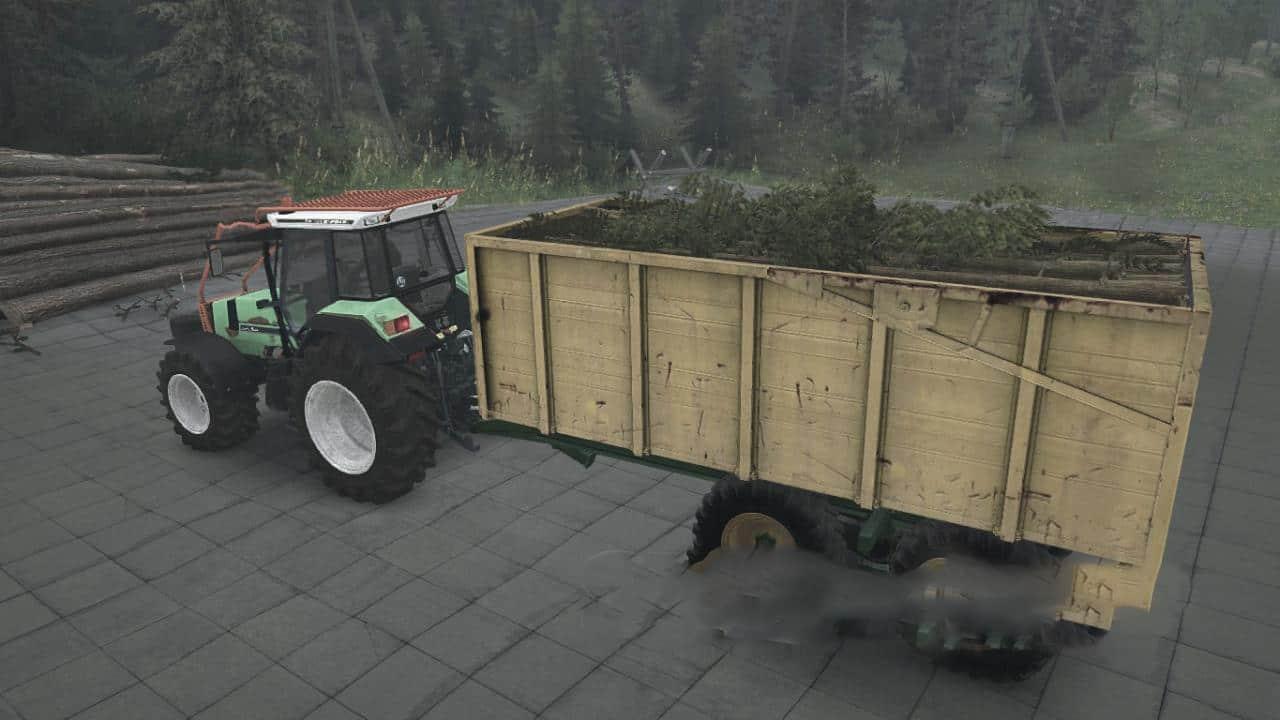 Spintires:Mudrunner - Deutz Agrostar 661-471DX Tractor V1.0