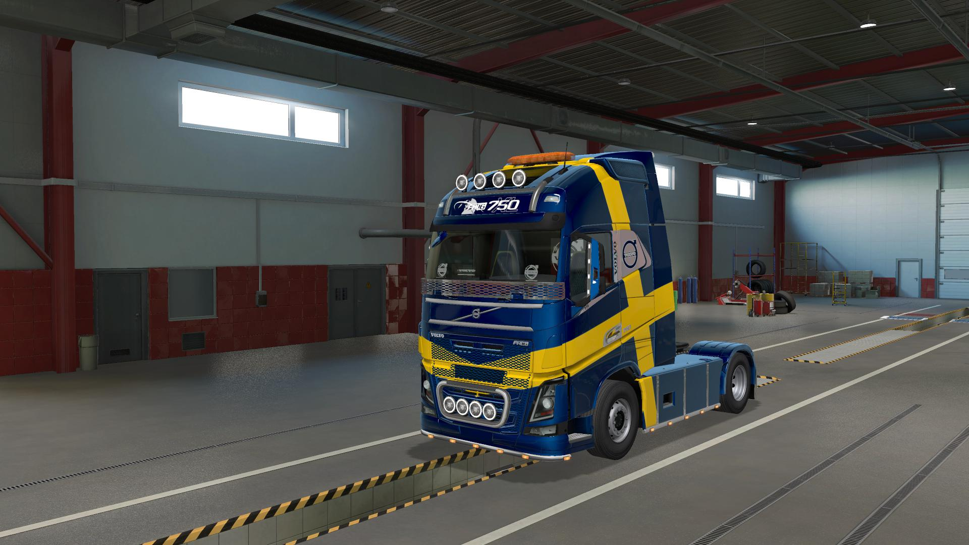 ETS2 - Rpie Volvo Fh16 2012 Truck V1.38.0.33s