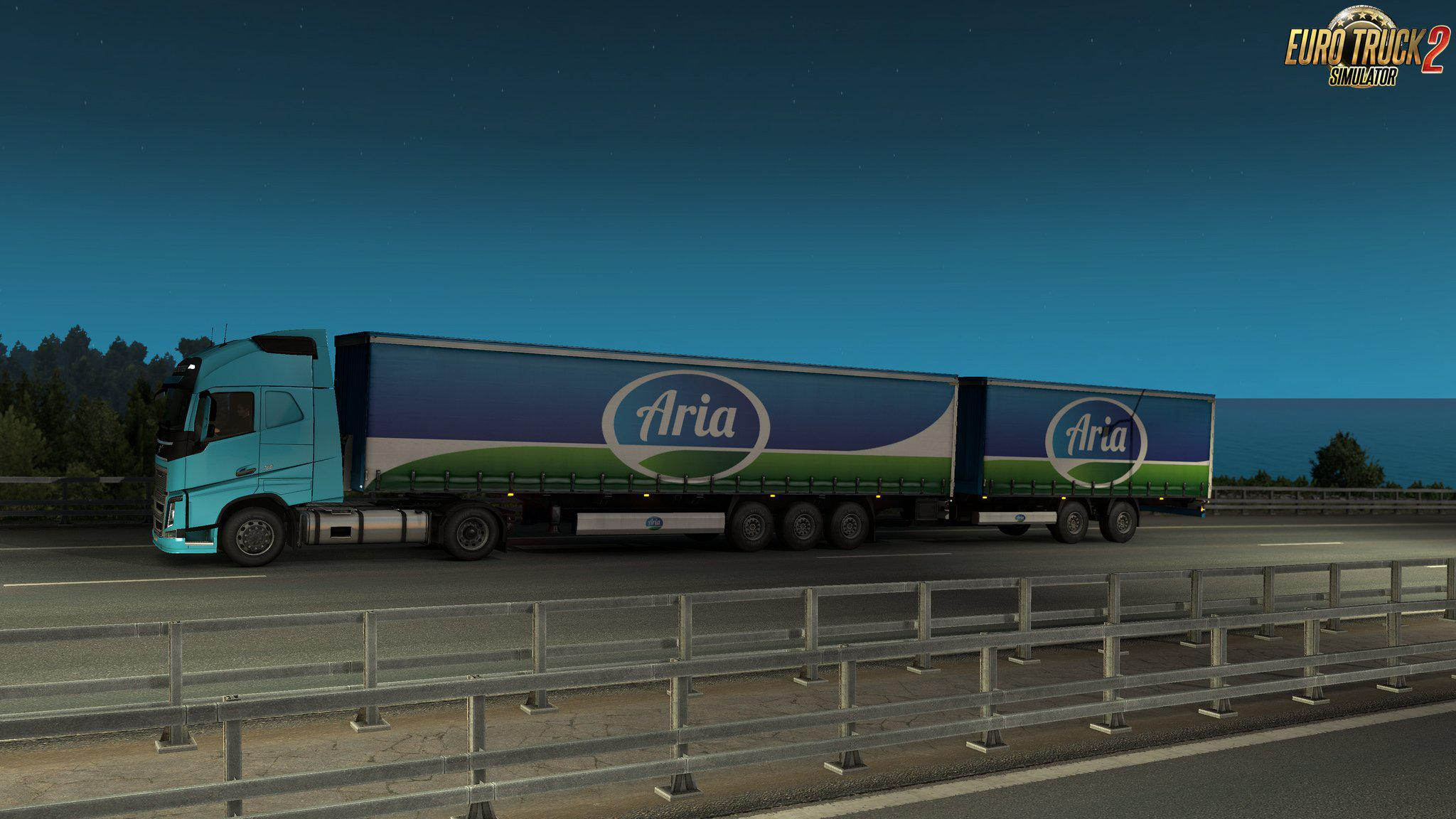ETS2 - Multiple Trailers in Traffic Mod V4 1 (1 35 X) | Euro Truck
