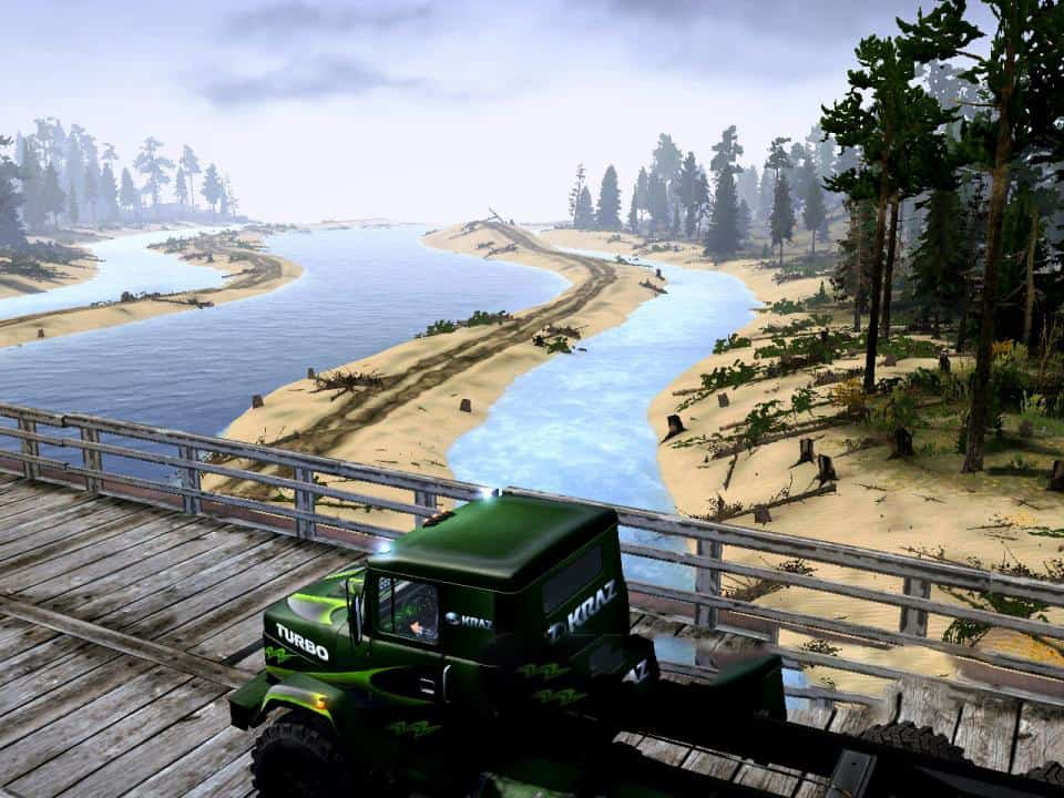 Spintires:Mudrunner - Autumn Has Come Map V1