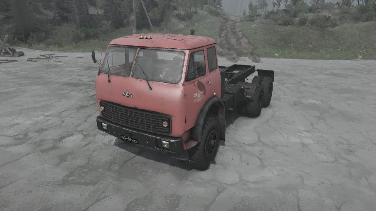 Spintires:Mudrunner - Balanced Trucks Pack No 3
