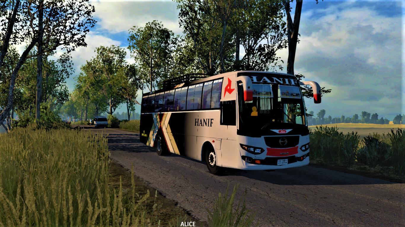 ETS2 - Hino AK1J Bus Mod (1.35.X)