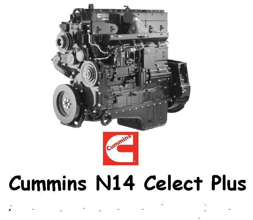 ATS - Cummins N14 Celect Plus Engine Pack V1.0 (1.40.x)