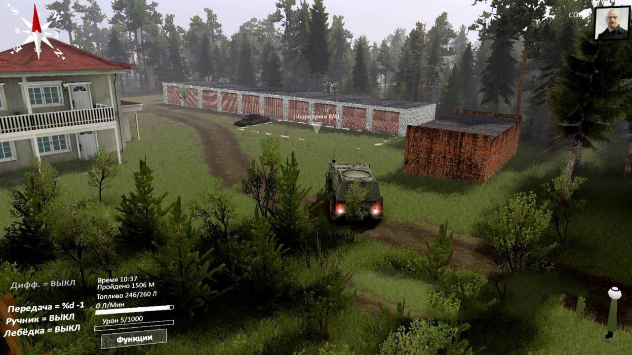 Spintires - Gaina Map V1.0.1