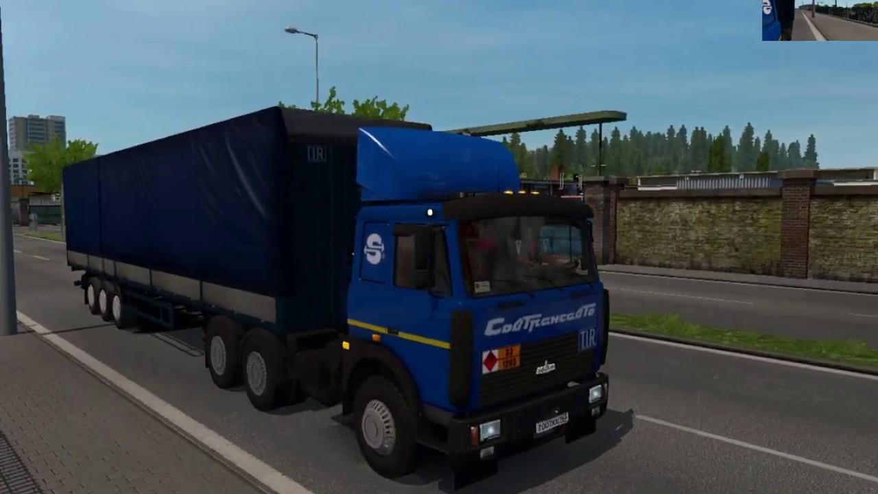 ETS2 - Maz 5432-6422 Truck V1.0 (1.39.x)
