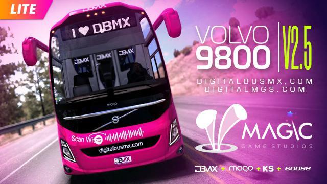 ETS2 - Volvo 9800 Bus V2.5 (1.37 - 1.38)