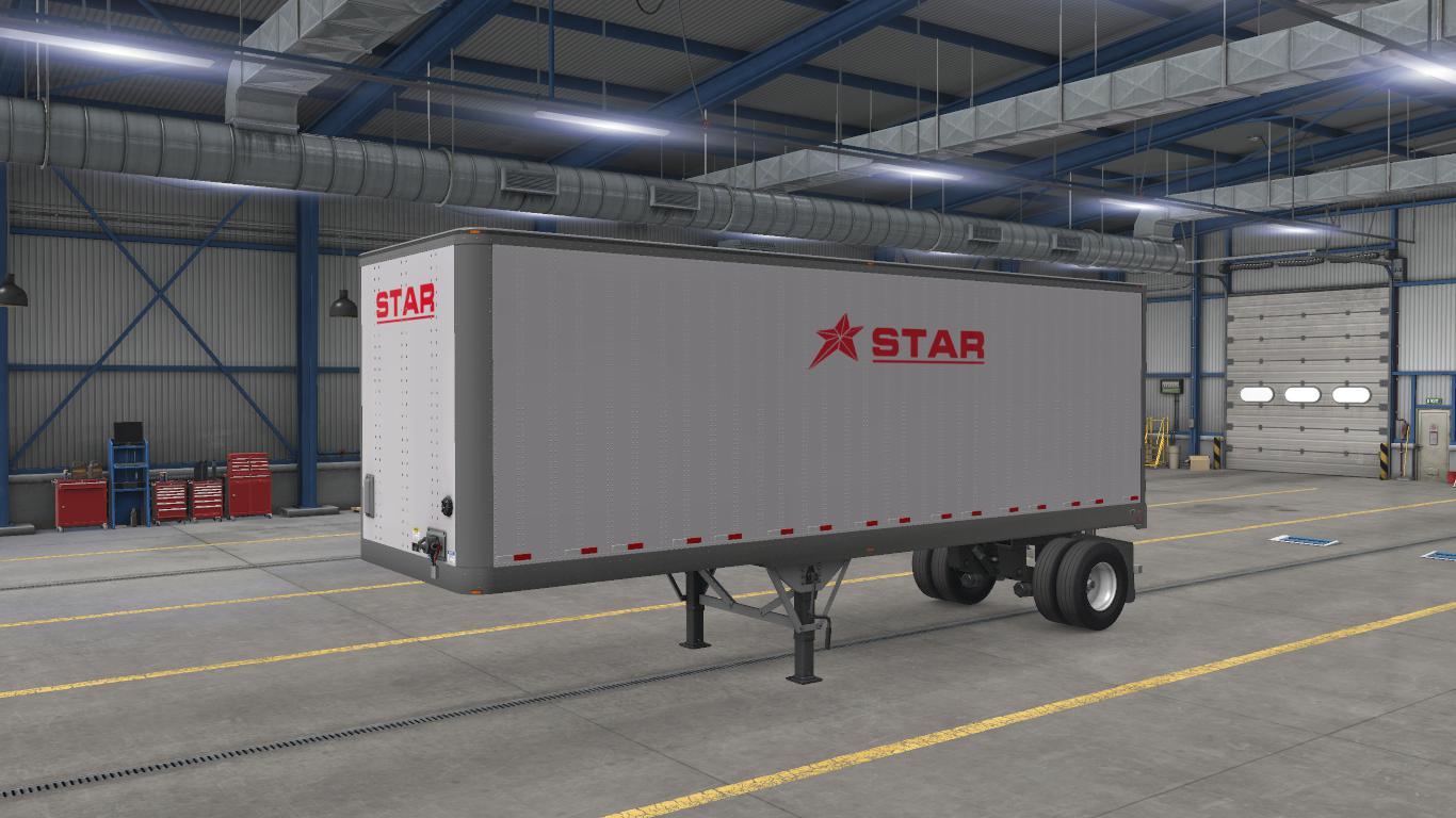 ATS - Star Transport Inc. SCS Box Trailer Skin Pack V1 (1.38.x)