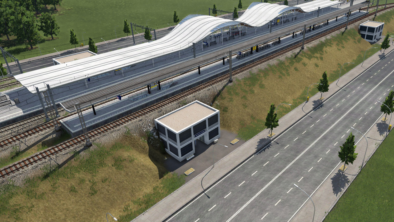 Transport Fever 2 - Dam Entrance Modules 1.12