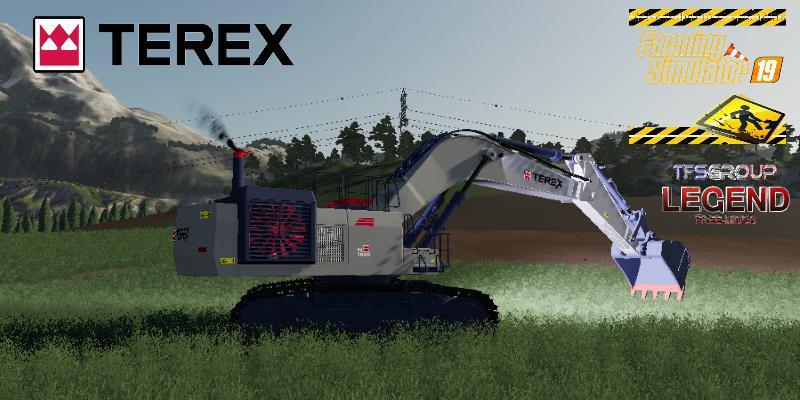 FS19 - Excavator Terex RH90F Dirth V2.0
