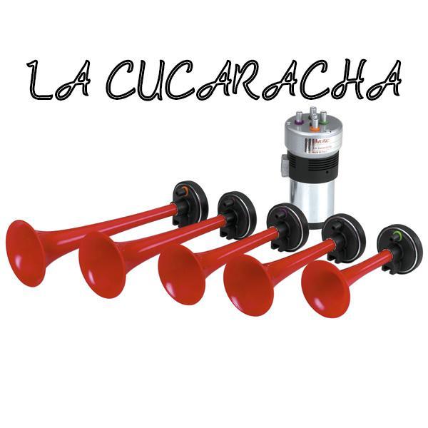 ETS2 - La Cucaracha Horn (1.37.x)