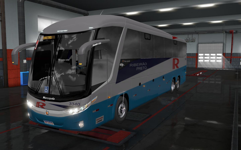 ETS2 - Volvo Marcopolo G7 1200 6x2 Bus Mod (1.35.X)