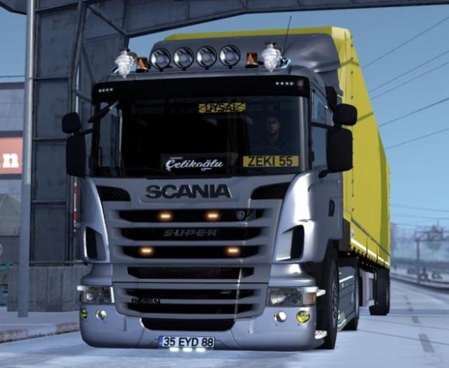 ETS2 - Scania G420 (Nazim Zeki Uysal) V4R20 (1.36.x)