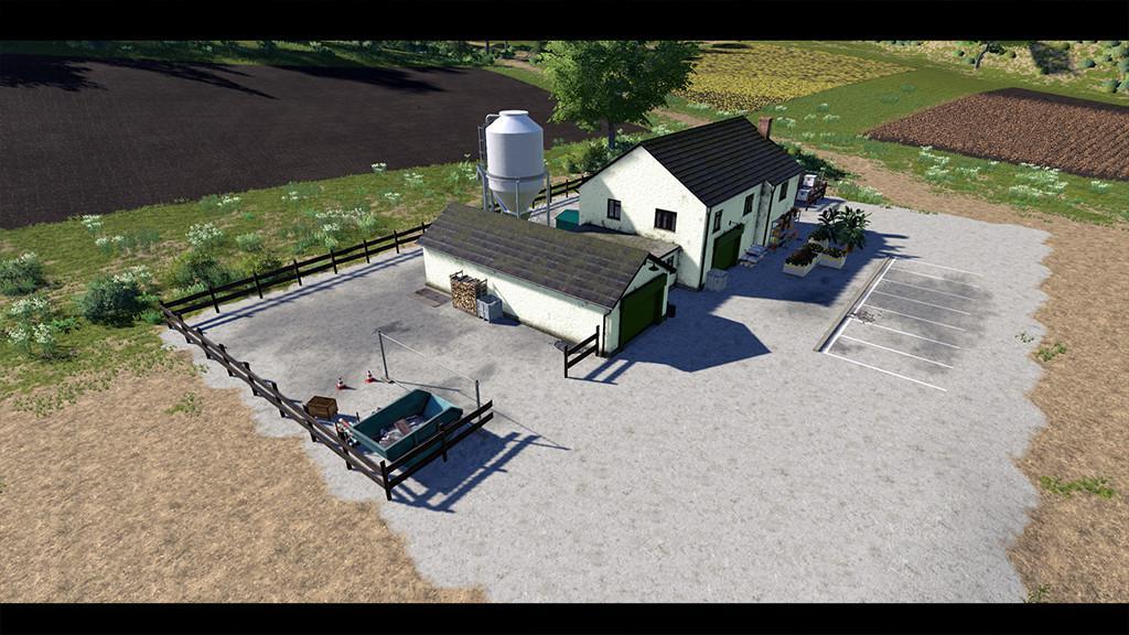FS19 - Placeable Farm Shop V1.0