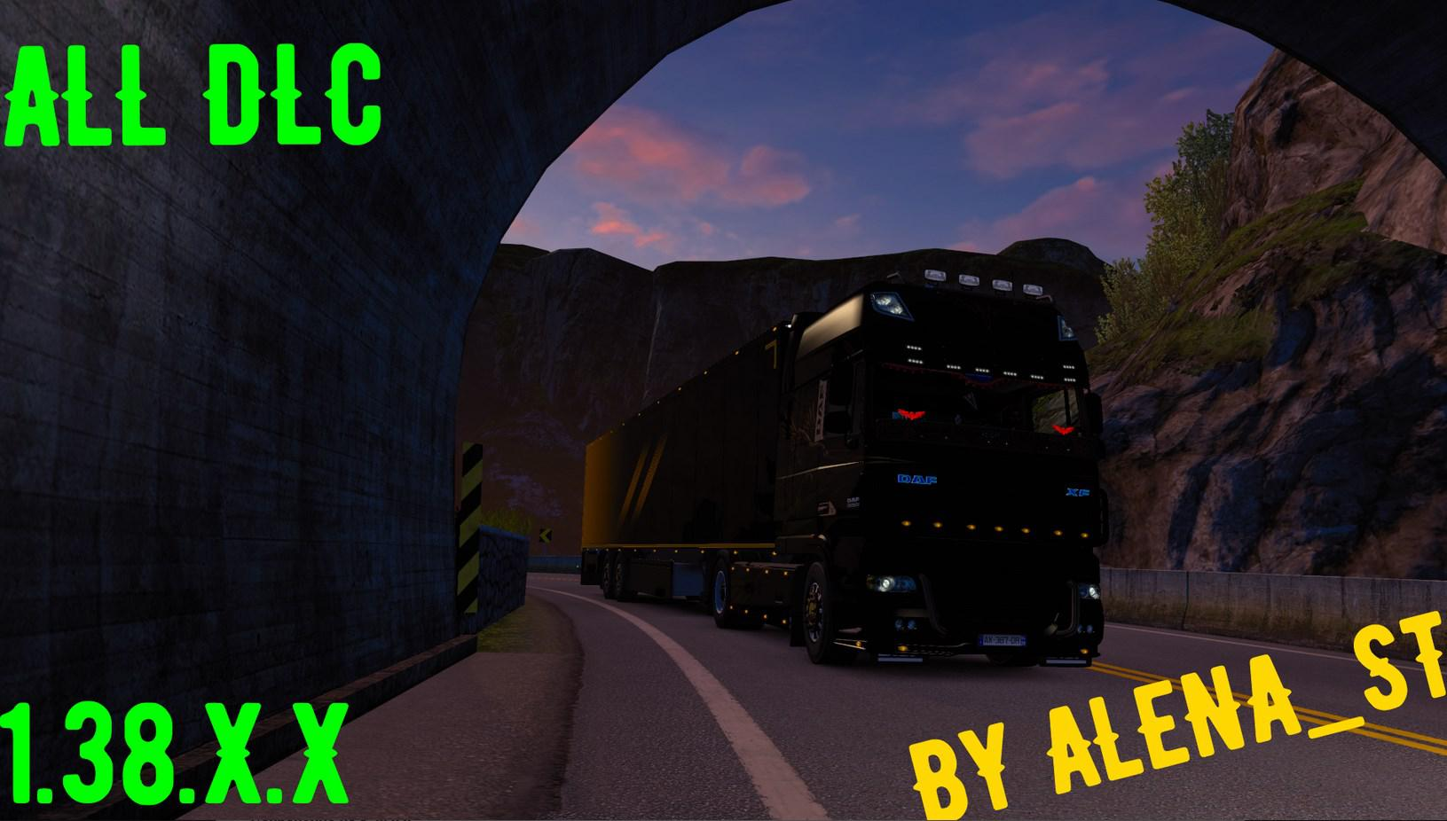 ETS2 -  All DLC 100% Savegame (1.38.x)