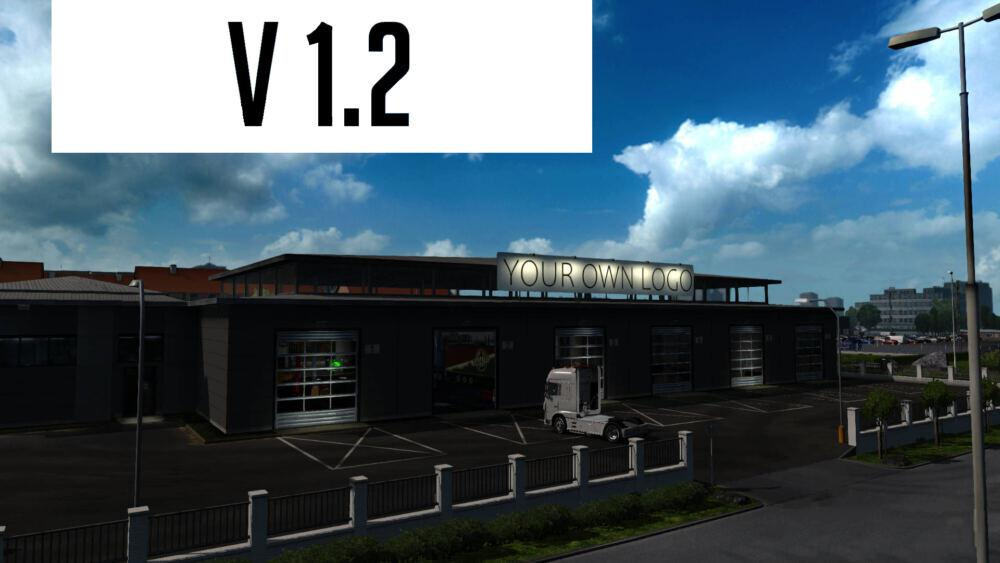ETS2 - Your Own Garage V1.2 (1.39.x)