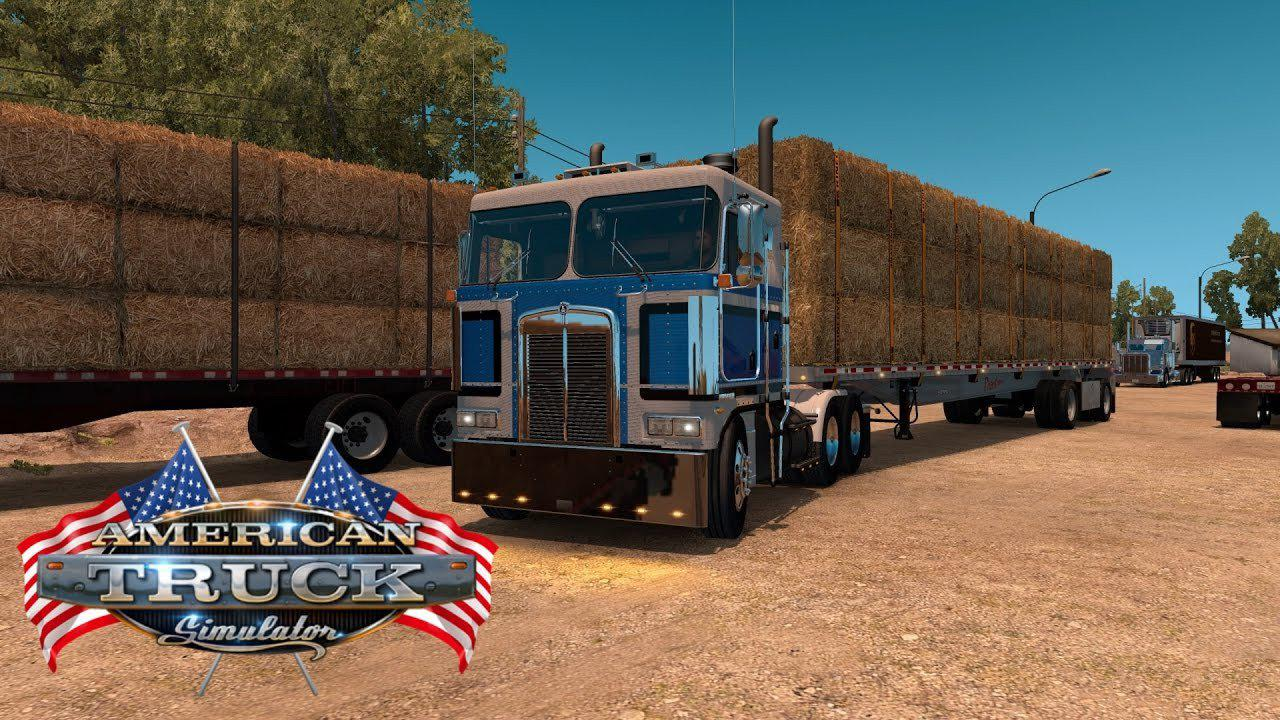 ATS - Kenworth K100E Truck (1.36.x)
