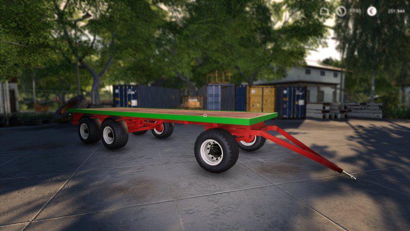 FS19 - Brantner DPW18000 Trailer V1