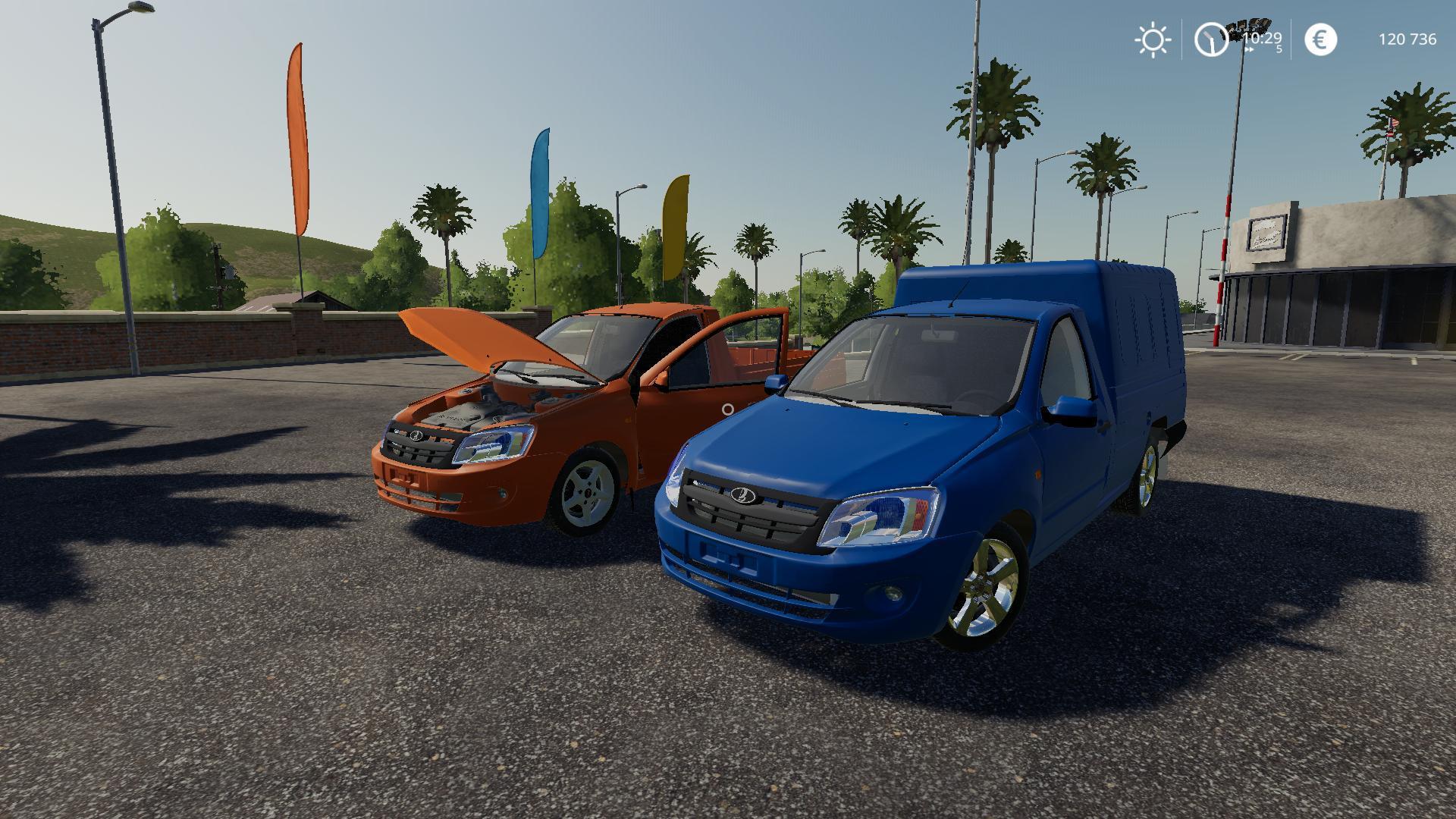 FS19 - Lada Granta Pickup V1.0