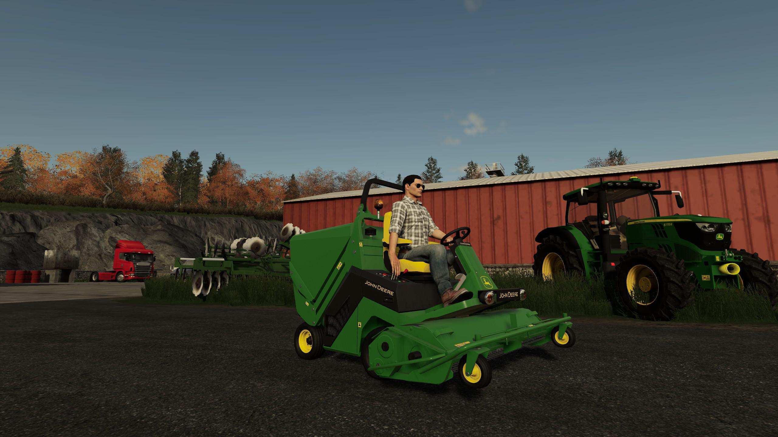 FS19 - John Deere Mower V1.0
