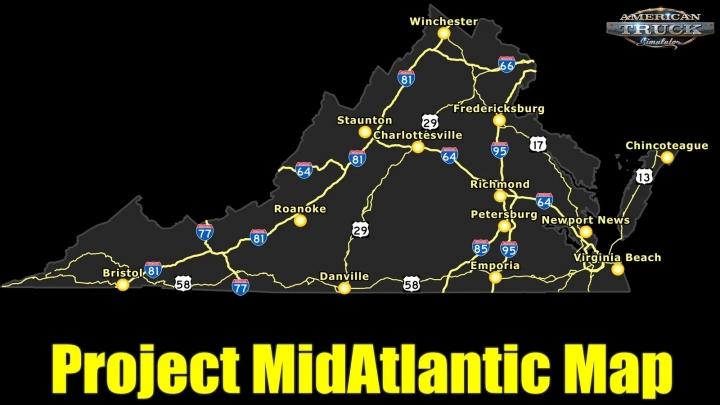 ATS - Project MidAtlantic Map V0.2.0.1 (1.41.x)
