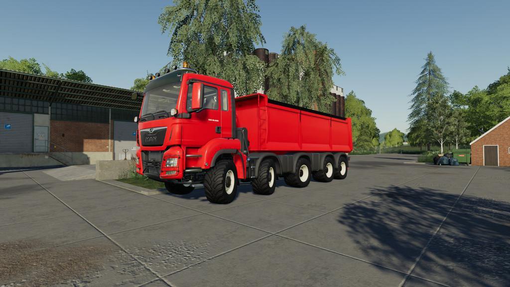 FS19 - Man Tgs 18.500 Kipper V1.0.1.0