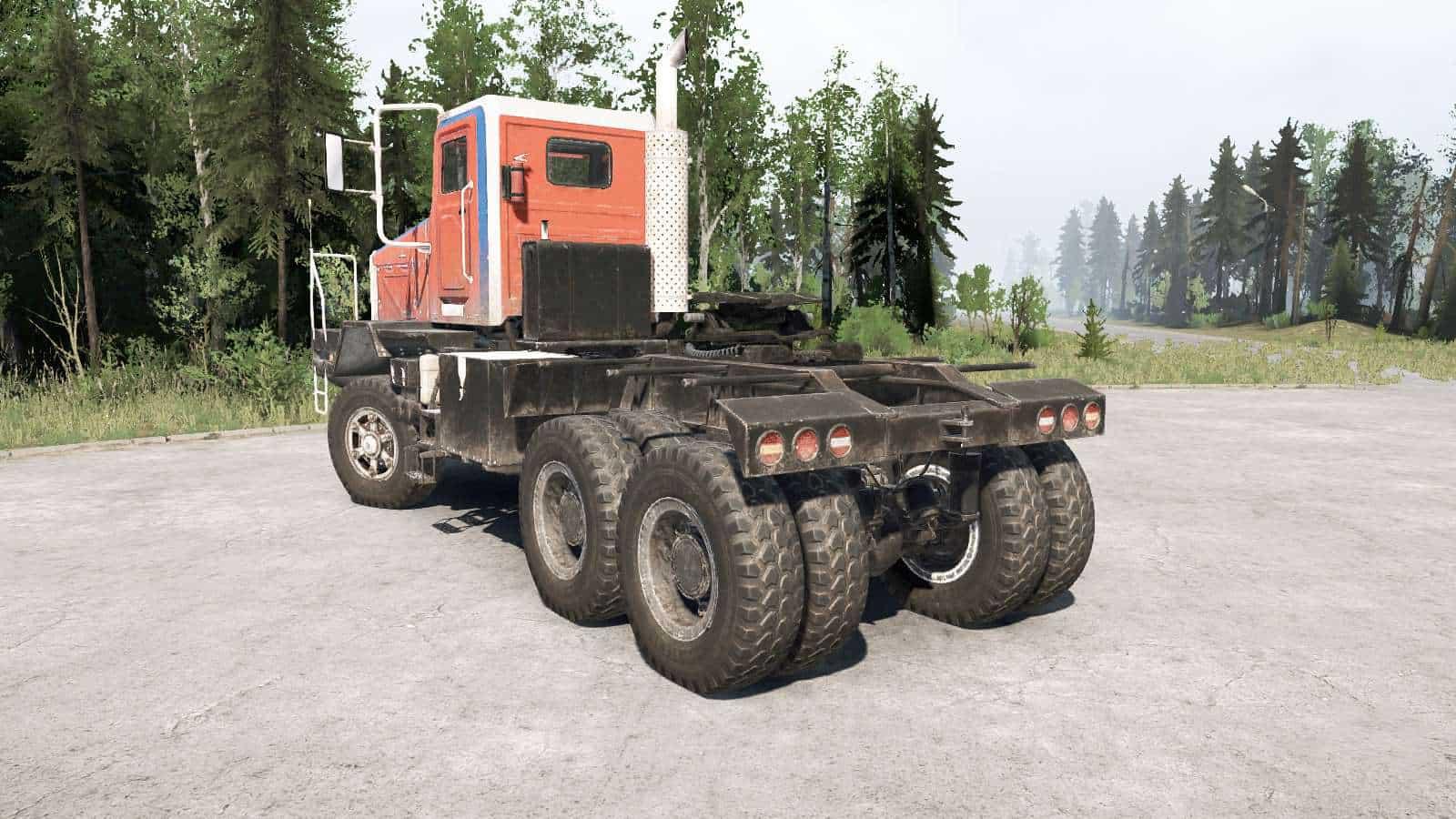 Spintires:Mudrunner - Boar 45318 Truck