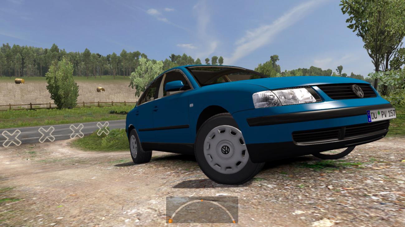 ETS2 - Volkswagen Passat 1.9 TDI Highline (1.37.x)