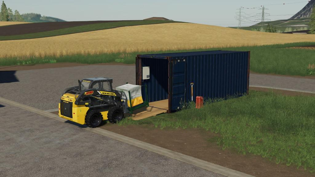 FS19 - Container V1.0