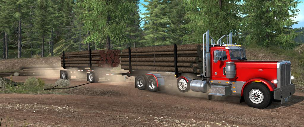 ATS - Heavy Truck and Trailer Add-on Mod V1.9 for Project 3XX (1.36.x)