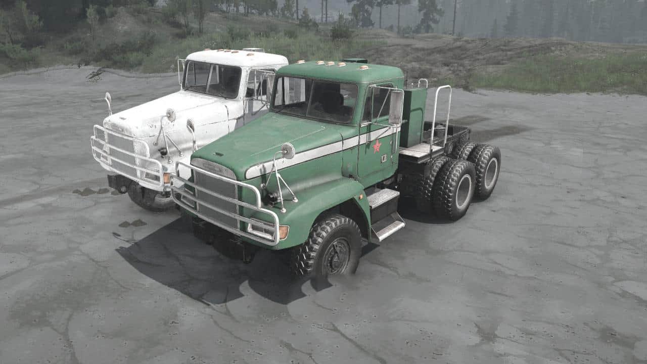 Spintires:Mudrunner - Freightliner M916A1 Truck V09.08.20