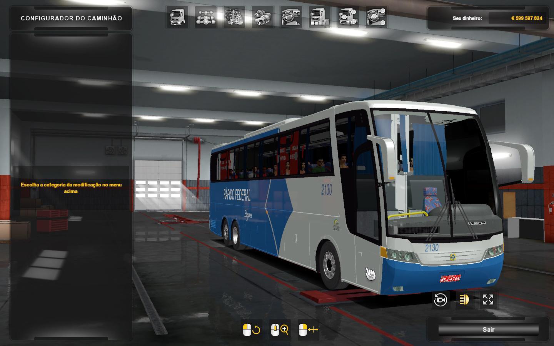 ETS2 - Vissta Buss HI & Jumbuss 360 V3.0 (1.36.x)