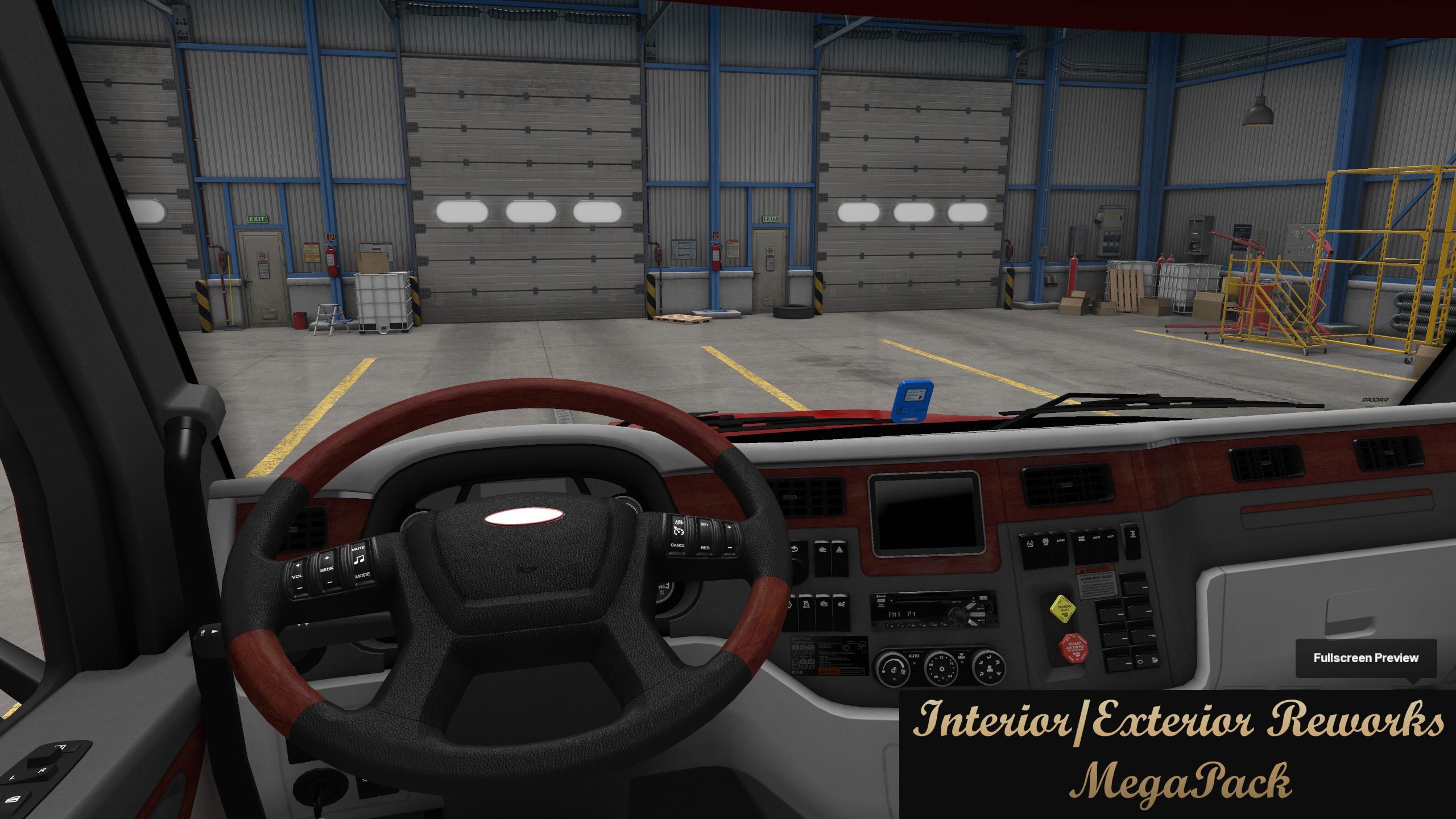 ATS - Interior/Exterior Reworks MegaPack V1.8 (1.37.x)
