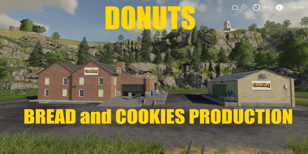 FS19 - Cookies Production V1.0.5