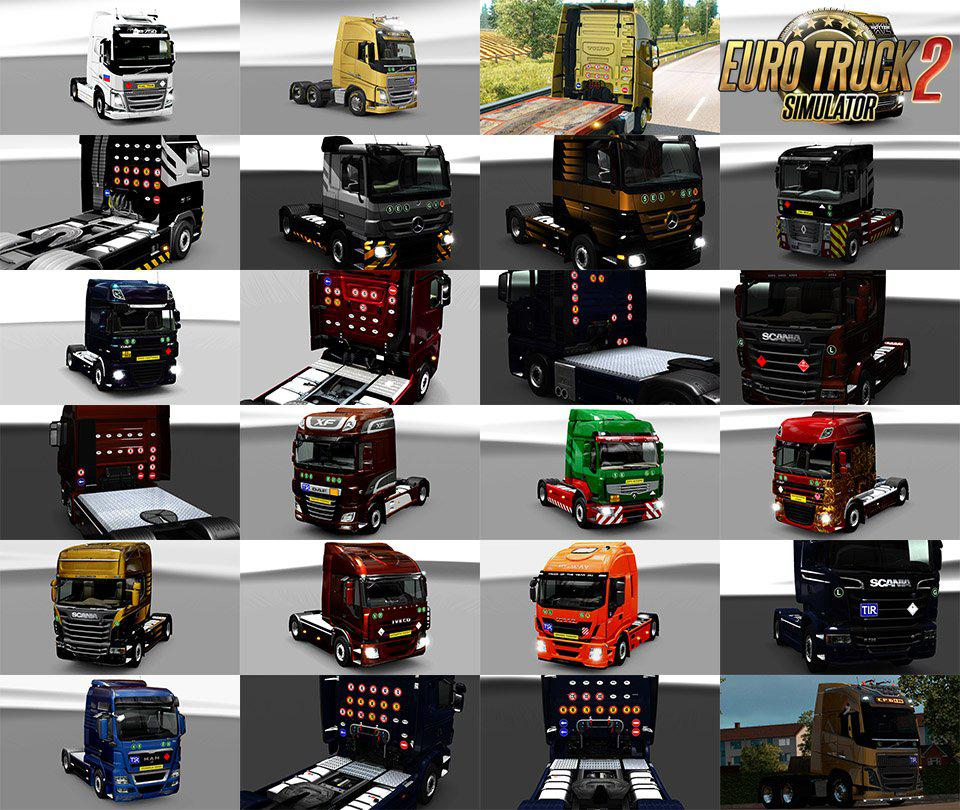 ETS2 - Signs on Your Truck V1.1.2.80 (1.37.x)