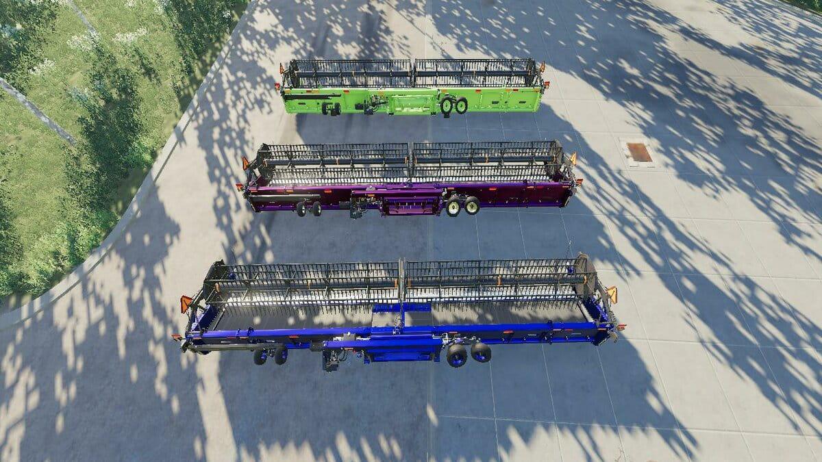 FS19 - New Holland 3162 Draper 45FT V1.0