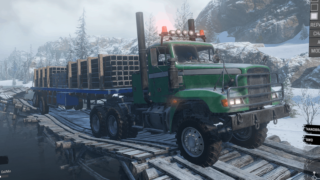 SnowRunner - M916A3 Light Equipment Transport V1.1.1