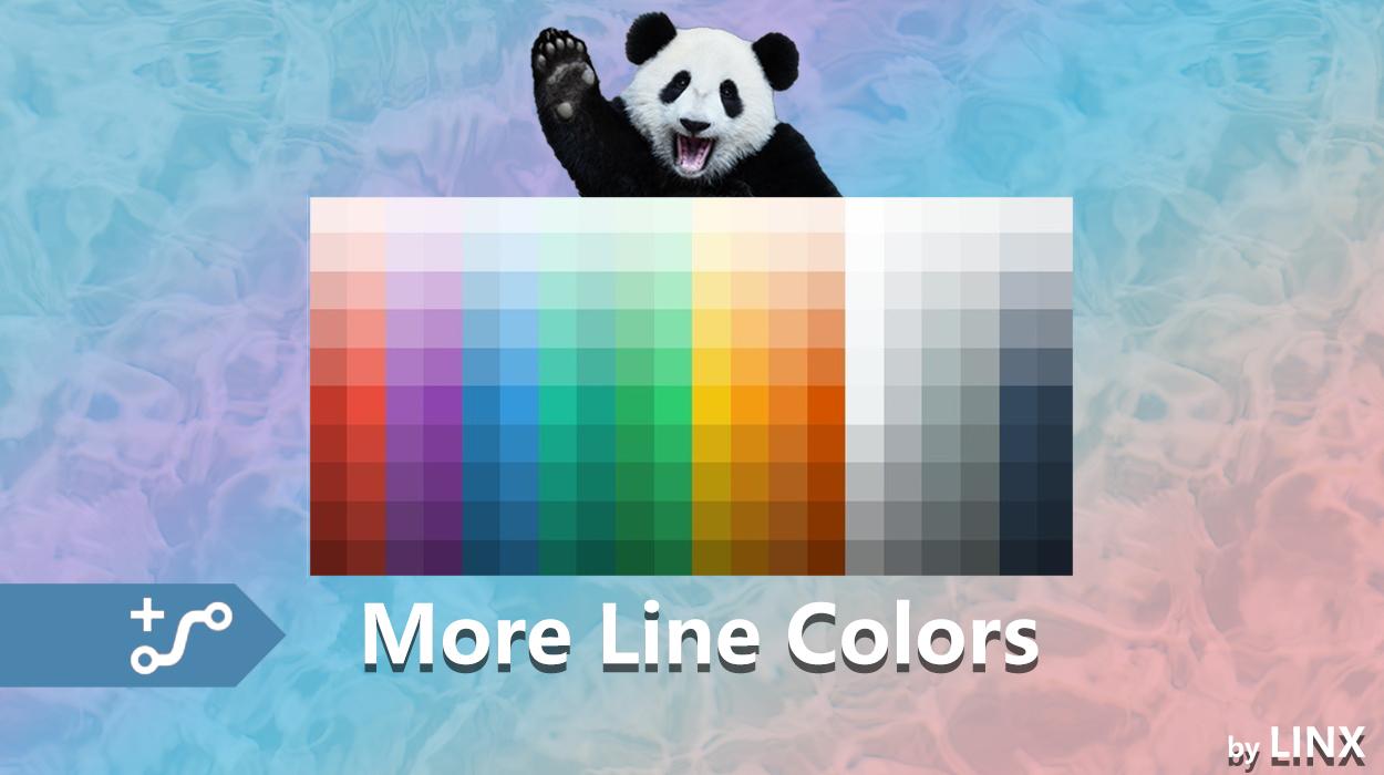 Transport Fever 2 - More Line Colors
