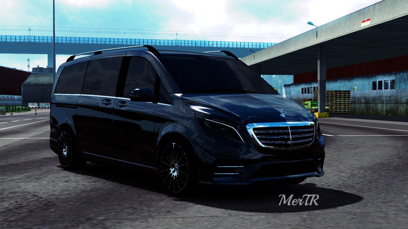 ETS2 - Mercedes-Benz Vito V-Class 2018 V2.0 (1.36.x)
