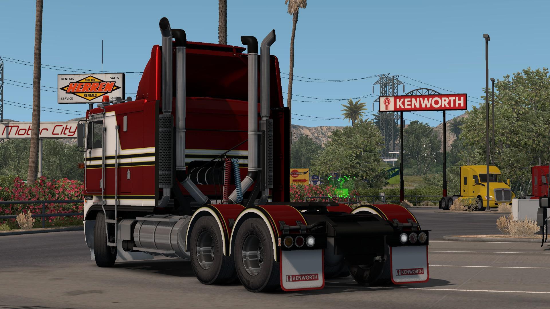 ATS - Kenworth K100E V1.0 (1.36.x)
