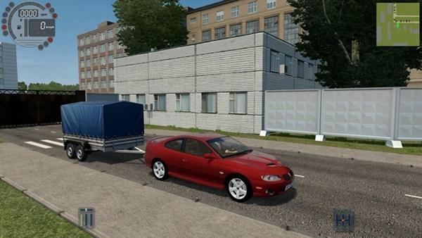 City Car Driving 1.5.9 - Pontiac GTO 2006