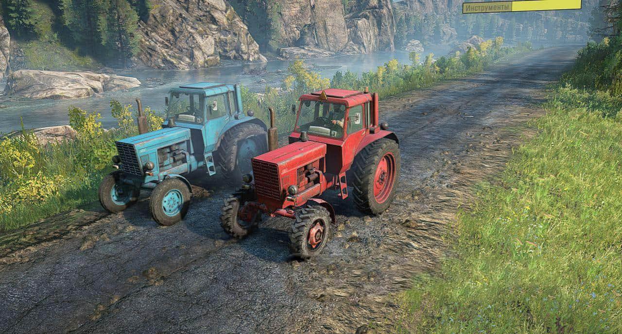 SnowRunner - MTZ-80 Tractor V1.8