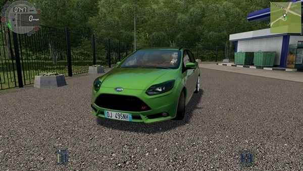 City Car Driving 1.5.9 - Ford Focus ST 2012