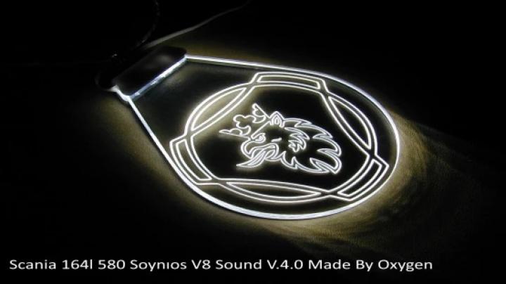 ETS2 - Scania Soynios V8 Sound (1.40.x)