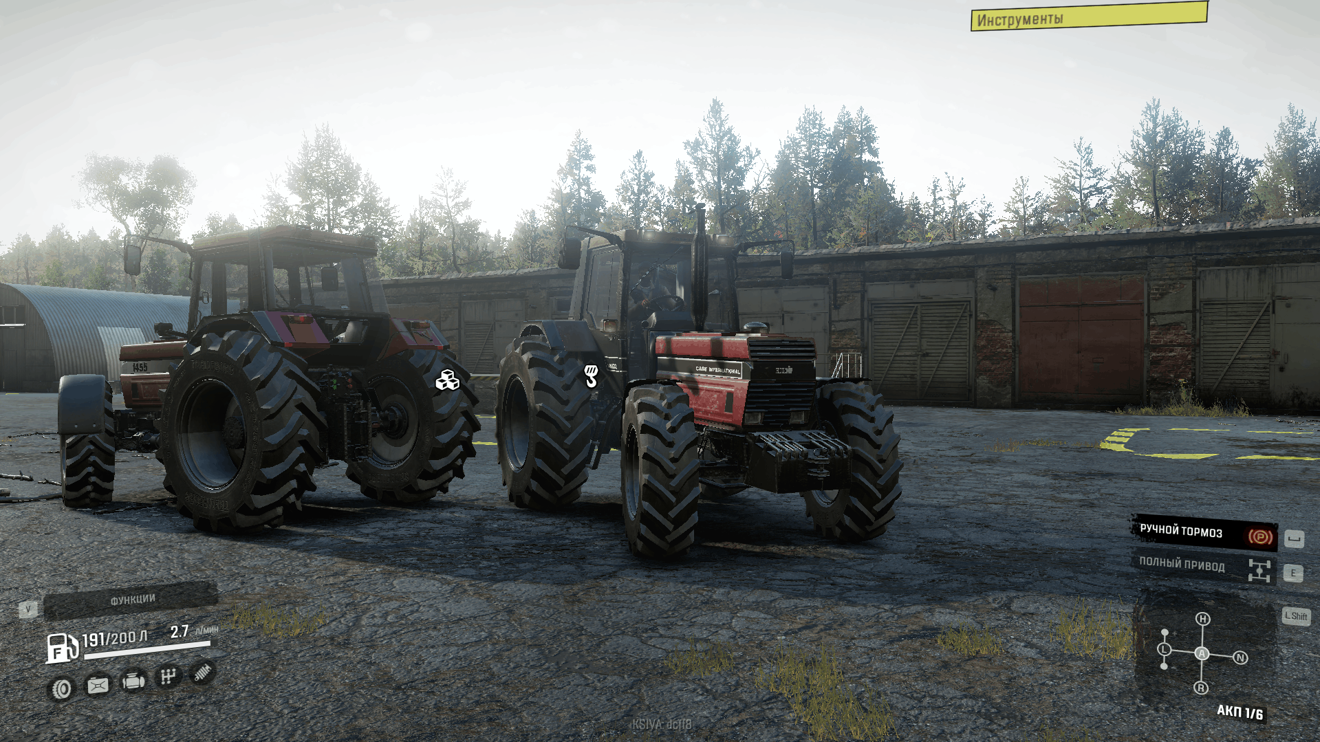 SnowRunner - Case Ih 1455 XL Tractor V2.1