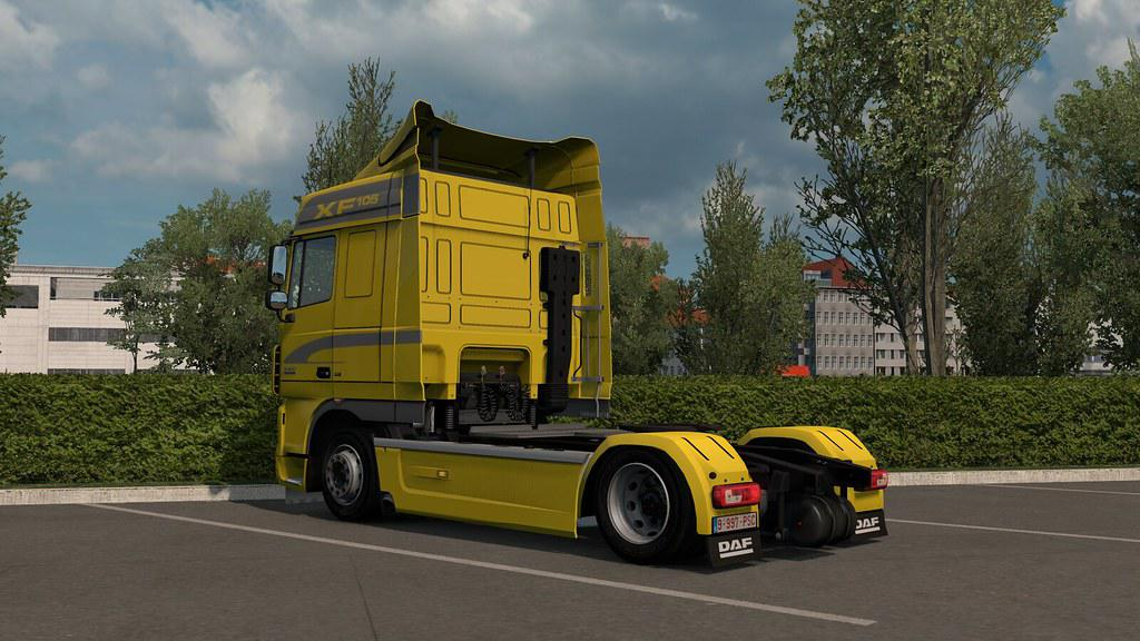 ETS2 - Low Deck Chassis Addons for Schumis Trucks V4.5 (1.38.x)