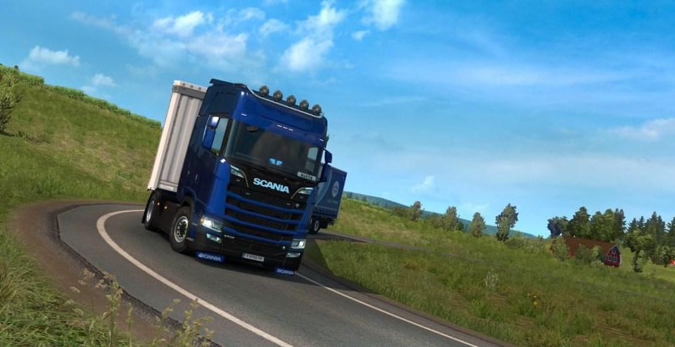ETS2 - Power On All Wheels for All Models of Scania (1.37 - 1.38)