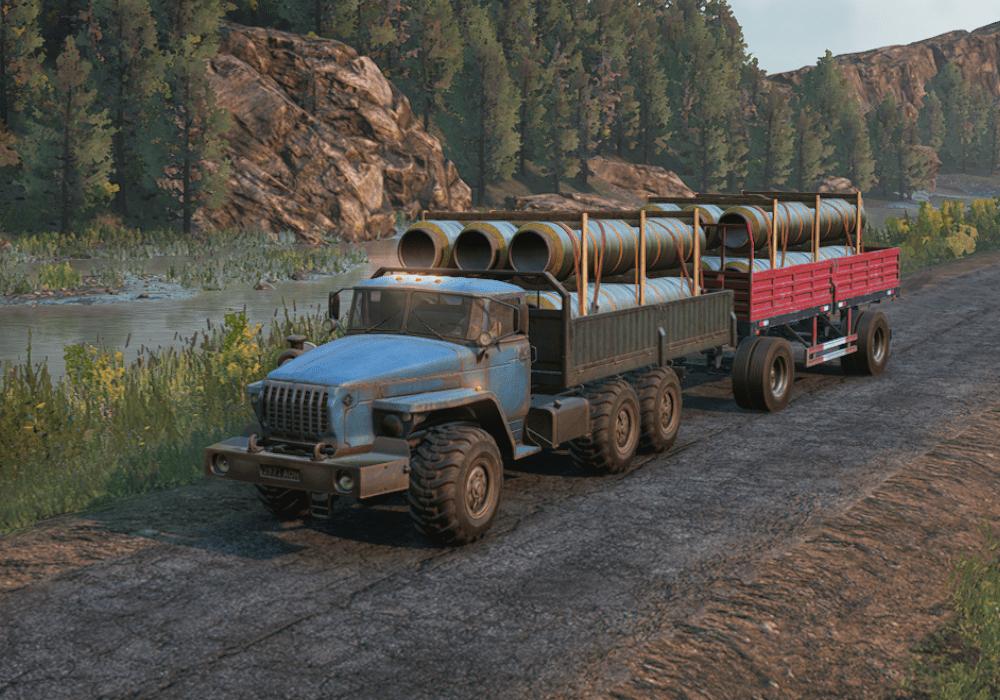 SnowRunner - Ural 432031 Truck