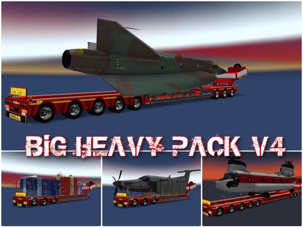 ETS2 - Big Heavy Pack V4.0 (1.36.x)